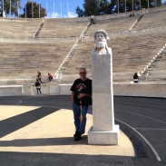 2 old relics at the home of the first Olympics