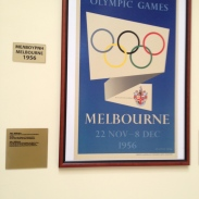 Poster of Melbourne Olympics at the Panthinaikon stadium - home of the modern olympics
