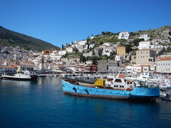 Island of Hydra Harbour