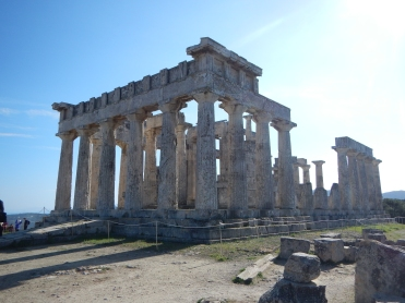 Temple of Athena Aphaia Island of Aegina