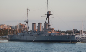 WW1 Greek Battle Ship The Averof