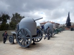 German WW1 mobile armoured carriage