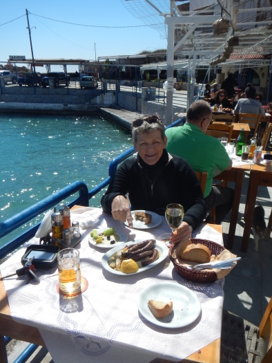 Lunch at Sfakia South Coast