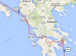 From Crete to Italy