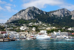 Main harbour - Isle of Capri