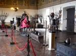 Armoury at Castello Odescalchi in Bracciano