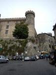 Castello Odescalchi overlooking the streets of Bracciano