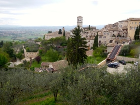Beautiful Italian town of Assisi - Home of St Francis & St Clare