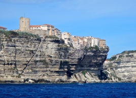 Living on the edge - Bonifacio Corsica
