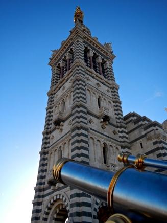 Tower of Basilique Notre Dame de la Garde