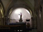 The crypt below Notre Dame - so peaceful