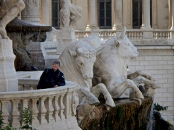 The lions of Palais Longchamp