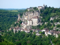 Beautiful village of Rocamadour