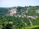 First view of Rocamadour - stunning