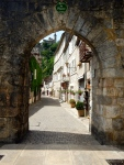 Archway into Rocamadour