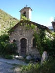 A very tiny church in Andora - signs of the past