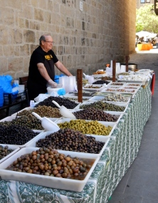 Market day in Solsona Spain
