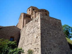 Small section of castell Cardona