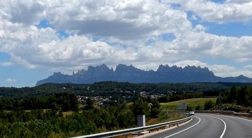 spectacular mountain range