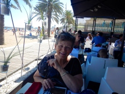Enjoying the beach - Barcelona