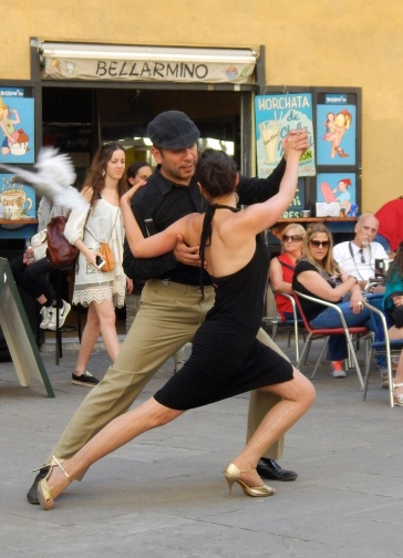 Street dancing - Barcelona