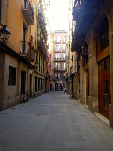 Back streets of Barcelona