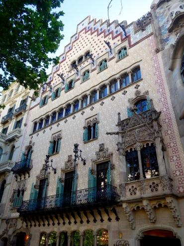 Many beautiful buildings - Barcelona