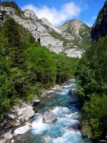 One of many national Parks of the Pyrenees