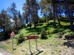 Coll de Jou - mountain pass in Spain's Pyrenees