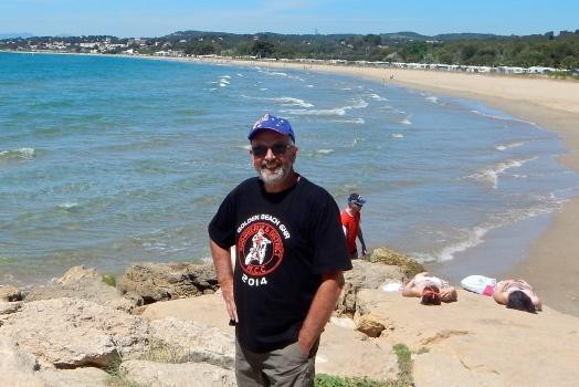 Beach walk at Tarragona