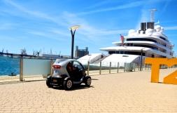Marina Security vehicle ... cute!