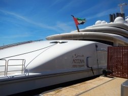 Super yacht 'AZZAM' - google it!