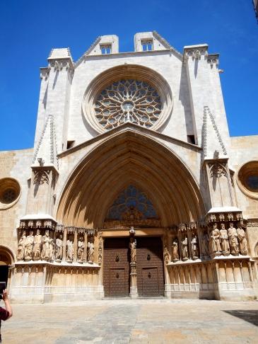 Basilica of Tarragona - Front view