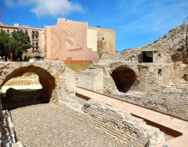 Remains of 2nd century AD Tarraco's circus - site of chariot races
