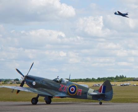 Spitfires in Action