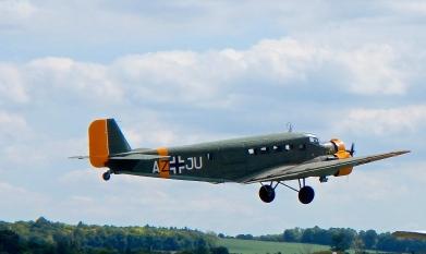 Junkers JU52 lumbers away