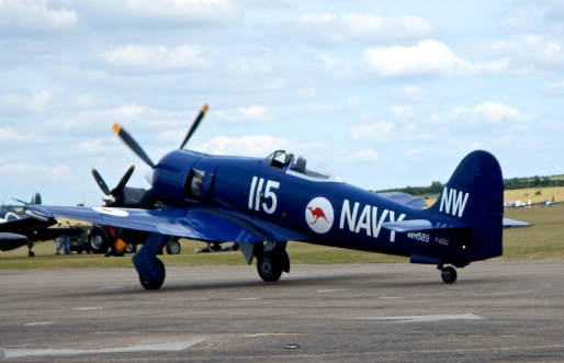 Hawker Sea Fury - In Australian Navel form, they were used by the Australian Navy from 1949 to 1953