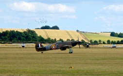 Hawker Hurricane MkII ready for take off