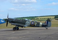 A 2 seater Spitfire ? Served in WW2 and was converted to a 2 seater in 1950 for the Irish Air Corps as an advanced trainer