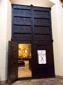 Another chapel being heavy metal doors- so peaceful
