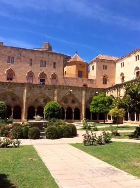 Cloisters courtyard