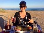 Dinner time on the beach