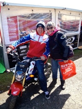 John Mc Ginness - TT champion - Isle of Man