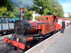 Steam train - Isle of Man