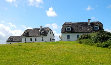Beautiful Thatched Irish cottages - County Clare