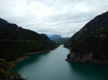Esera river near Aragon