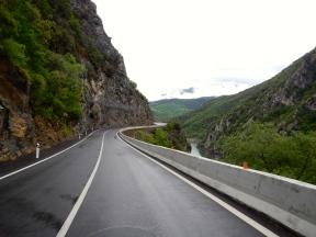 Beginnings of the Ventamillo Gorge