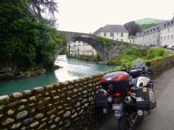 Gave de Pau river Lestelle - Betharram - French Pyrénées