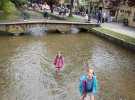 Kids love water ... England