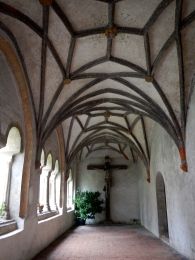 Outside cloister